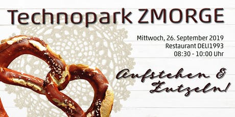 Technopark ZMORGE | 26.09.2019 Tickets