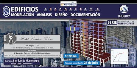 Seminario técnico presencial de EDIFICIOS - Reunión técnica presencial en Montevideo, Uruguay tickets
