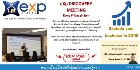 EXP Discovery Meeting tickets