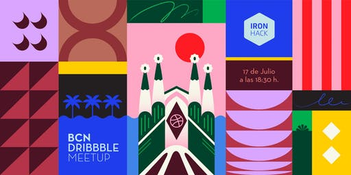 Dribbble BCN Summer Meetup - 2nd Edition