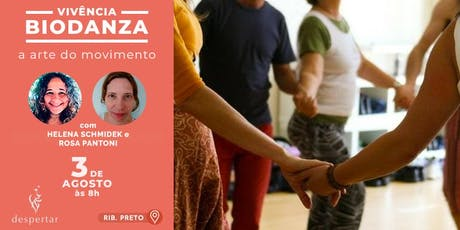 Vivência: Biodanza  - A Arte do Movimento ingressos