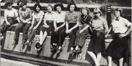 The WW2 Heroines of the British Waterways An illustrated People Power talk tickets