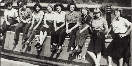 The WW2 Heroines of the British Waterways An illustrated People Power talk