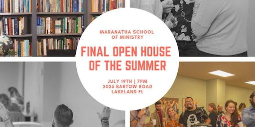 Final Open House of the Summer