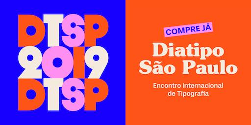 Palestras DiaTipo São Paulo 2019