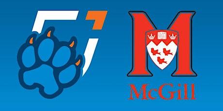 Ontario Tech Men's Hockey vs. McGill Athletics tickets