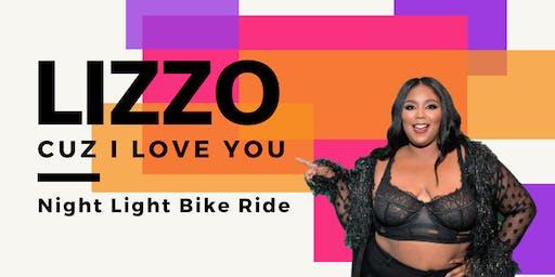 "LIZZO ""Cuz I Love You""  |  Night Light Bike Ride"