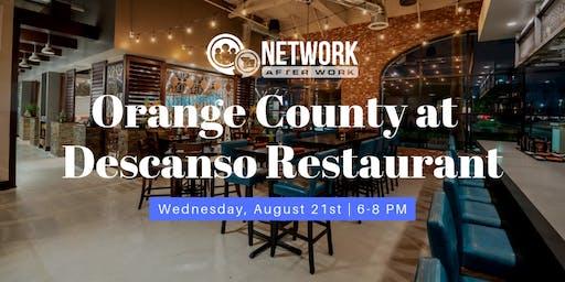 Network After Work Orange County at Descanso Restaurant
