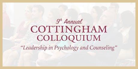 2019 Cottingham Colloquium tickets