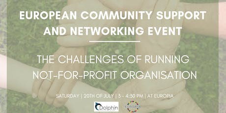 European Community Support And Networking Event tickets