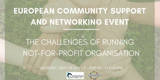 European Community Support And Networking Event