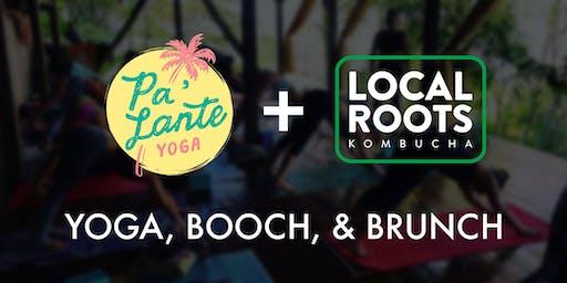 Yoga, Booch, & Brunch w/ Pa'lante Yoga