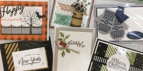Holiday Card Shoebox Swap tickets