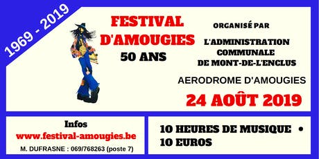 Festival d'Amougies 2019 tickets