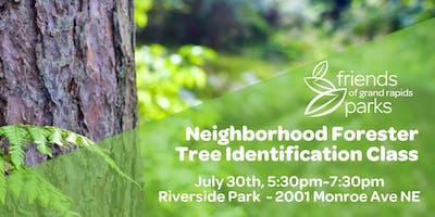 Neighborhood Forester Tree ID Class - Riverside Park