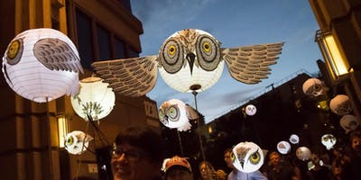 Adults Only Owl Lantern Workshop for Parliament of Owls: A Midtown Lantern Parade