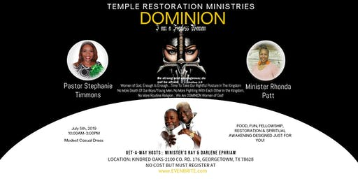 Temple Restoration Dominion