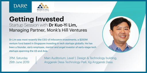 Startup Session with Dr Kuo-Yi Lim of Monk's Hill Ventures