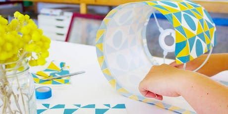 Screen Print and Make your own Lampshade tickets