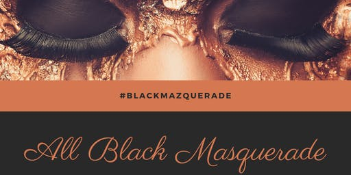 "Black Magazines ""All Black Masquerade"""