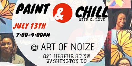 Paint & Chill a creative experience  @ ART OF NOIZE tickets
