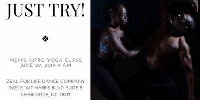 Just Try! Men's Introduction To Yoga Class