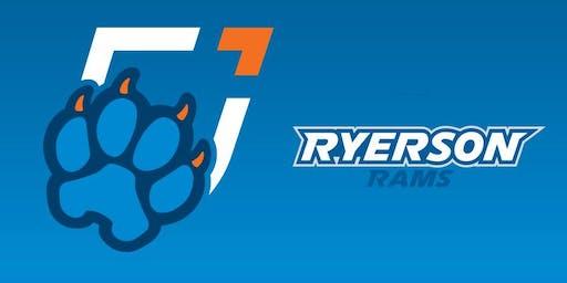 Ontario Tech Women's Hockey vs. Ryerson Rams