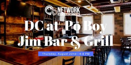 Network After Work Washington DC at Po Boy Jim Bar & Grill tickets