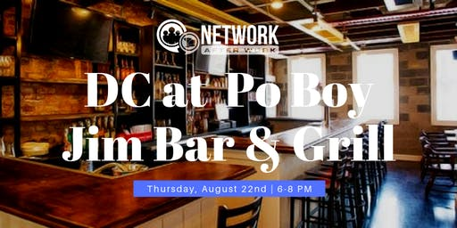 Network After Work Washington DC at Po Boy Jim Bar & Grill