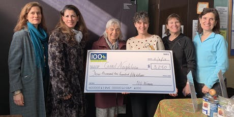 100+ Women RI Big Check Delivery! tickets