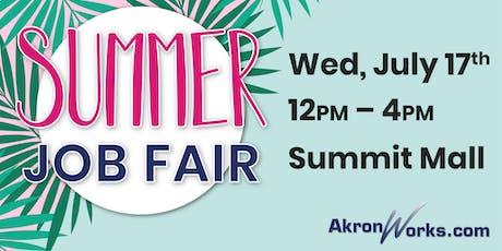 AkronWorks.com Summer Job Fair tickets