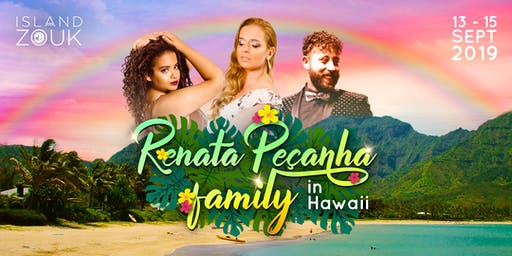 Renata Pecanha Family in Hawaii