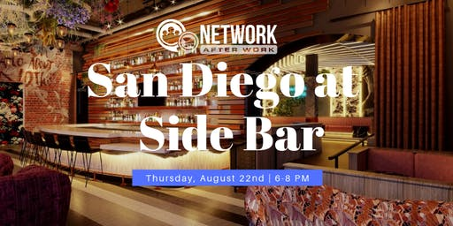 Network After Work San Diego at Side Bar