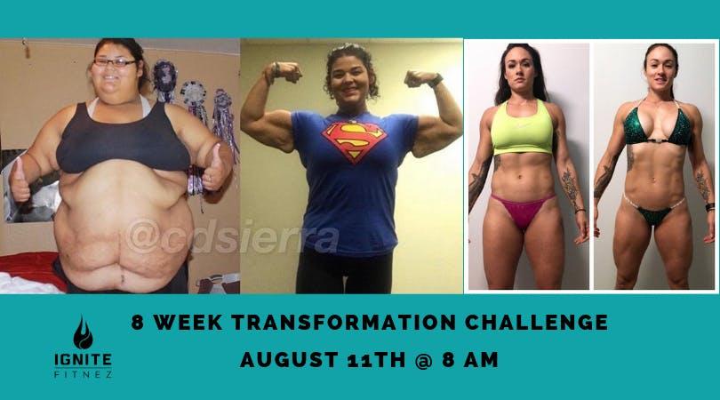 8 Week Transformation Challenge