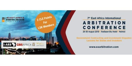 7th East Africa International Arbitration Conference 2019 tickets