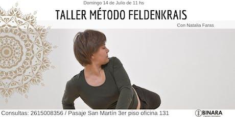 TALLER MÉTODO FELDENKRAIS entradas