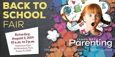 Tampa Bay's Largest Back to School Fair