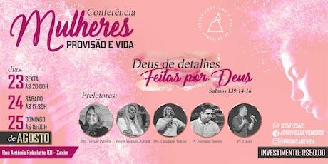 Conferência de Mulheres Deus de Detalhes ingressos