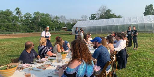 Root and Marrow / Walsh Family Wine - farmsite dinner