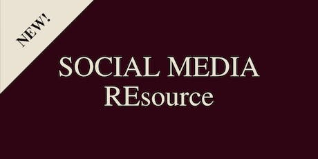 New Social Media Resource Training: Getting Set Up tickets