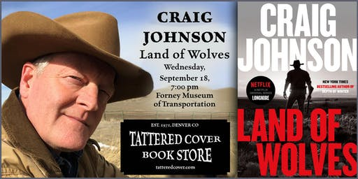 An Evening with Craig Johnson, Book Talk & Signing