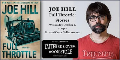 An Evening with Joe Hill, Book Talk & Signing