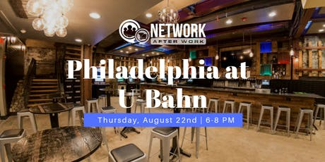 Network After Work Philadelphia at U-Bahn tickets