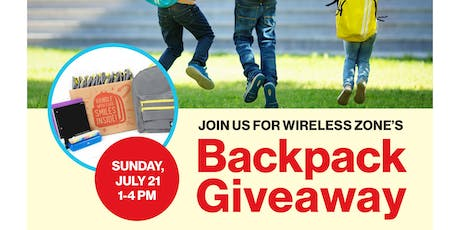 Southbury Verizon WZ Backpack Giveaway  tickets