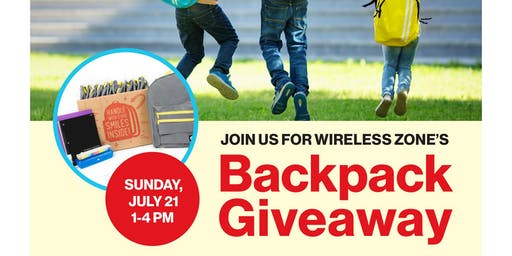 Southbury Verizon WZ Backpack Giveaway