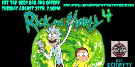 Rick and Morty Trivia at Fat Tap Beer Bar and Eatery tickets
