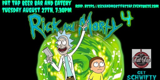 Rick and Morty Trivia at Fat Tap Beer Bar and Eatery