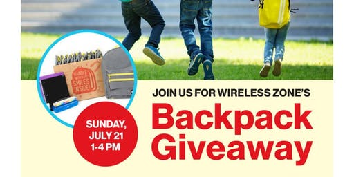 Watertown Verizon Backpack and School Supplies Giveaway