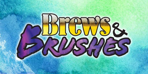 Brews and Brushes - July 2019 - Paint Your Bestie!