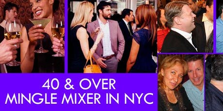Singles Mixer For Ages 40s & 50s tickets